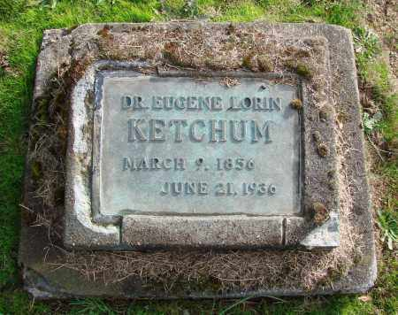 KETCHUM, EUGENE LORIN - Polk County, Oregon   EUGENE LORIN KETCHUM - Oregon Gravestone Photos
