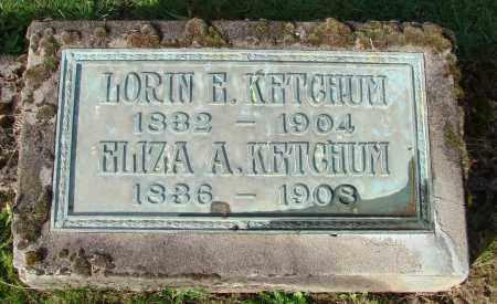 KETCHUM, LORIN E - Polk County, Oregon   LORIN E KETCHUM - Oregon Gravestone Photos