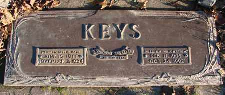 KEYS, MILDRED LETTIE - Polk County, Oregon | MILDRED LETTIE KEYS - Oregon Gravestone Photos