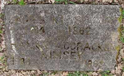 MCCRACKEN, HANNAH JANE - Polk County, Oregon | HANNAH JANE MCCRACKEN - Oregon Gravestone Photos