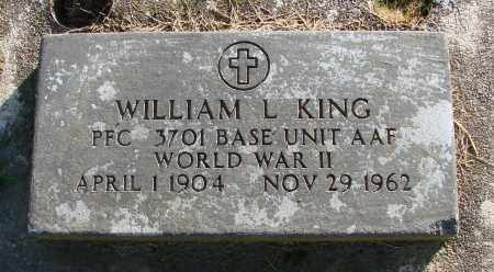 KING (WWII), WILLIAM L - Polk County, Oregon   WILLIAM L KING (WWII) - Oregon Gravestone Photos