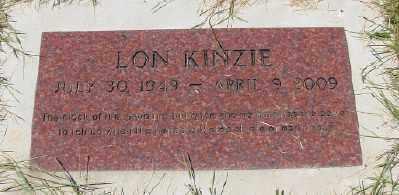 KINZIE, LON - Polk County, Oregon | LON KINZIE - Oregon Gravestone Photos