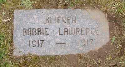 KLIEVER, BOBBIE LAWRENCE - Polk County, Oregon   BOBBIE LAWRENCE KLIEVER - Oregon Gravestone Photos