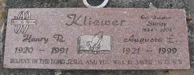 KLIEWER, AUGUSTA L - Polk County, Oregon | AUGUSTA L KLIEWER - Oregon Gravestone Photos