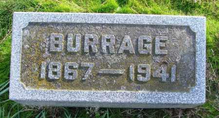 KNOWLES, BURRAGE - Polk County, Oregon   BURRAGE KNOWLES - Oregon Gravestone Photos