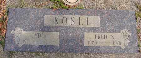 KOSEL, LYDIA - Polk County, Oregon | LYDIA KOSEL - Oregon Gravestone Photos