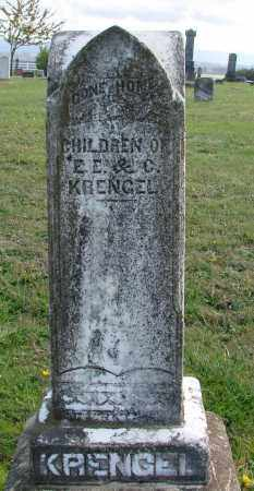 KRENGEL, CHILDREN - Polk County, Oregon | CHILDREN KRENGEL - Oregon Gravestone Photos