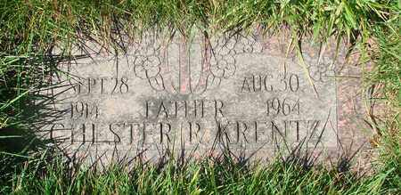 KRENTZ, CHESTER R - Polk County, Oregon   CHESTER R KRENTZ - Oregon Gravestone Photos