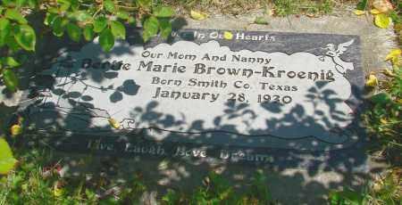 BROWN, BERTE MARIE - Polk County, Oregon | BERTE MARIE BROWN - Oregon Gravestone Photos