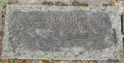 KROENIG, WALTER - Polk County, Oregon   WALTER KROENIG - Oregon Gravestone Photos