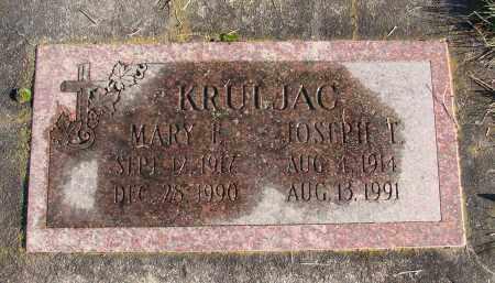 KRULJAC, JOSEPH T - Polk County, Oregon   JOSEPH T KRULJAC - Oregon Gravestone Photos