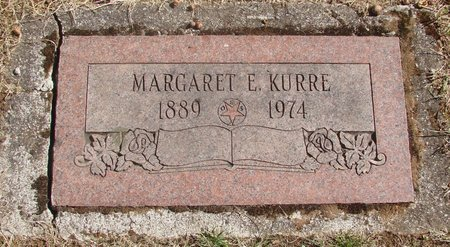 KURRE, MARGARET E - Polk County, Oregon | MARGARET E KURRE - Oregon Gravestone Photos
