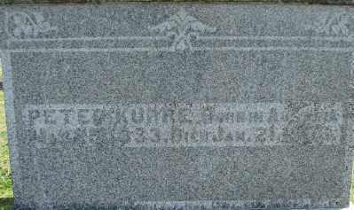 KURRE, PETER - Polk County, Oregon   PETER KURRE - Oregon Gravestone Photos