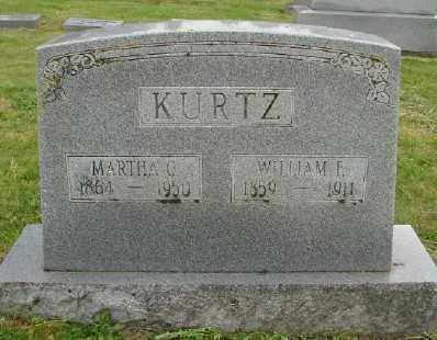 KURTZ, WILLIAM F - Polk County, Oregon | WILLIAM F KURTZ - Oregon Gravestone Photos