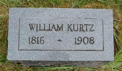 KURTZ, WILLIAM - Polk County, Oregon | WILLIAM KURTZ - Oregon Gravestone Photos