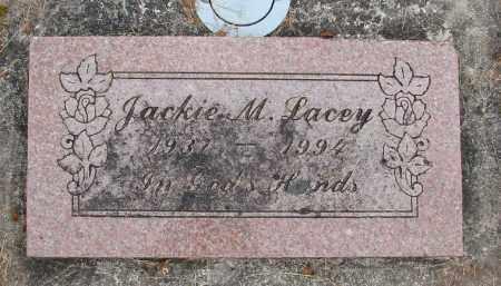 LACEY, JACKIE M - Polk County, Oregon | JACKIE M LACEY - Oregon Gravestone Photos