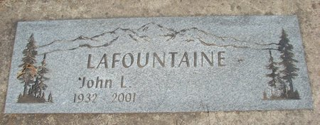 LAFOUNTAINE, JOHN L - Polk County, Oregon | JOHN L LAFOUNTAINE - Oregon Gravestone Photos