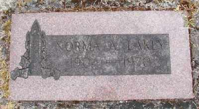 LAKEY, NORMA A - Polk County, Oregon   NORMA A LAKEY - Oregon Gravestone Photos