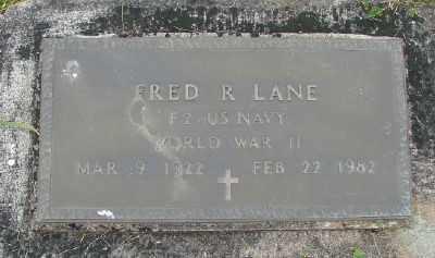 LANE (SERV), FRED R - Polk County, Oregon   FRED R LANE (SERV) - Oregon Gravestone Photos