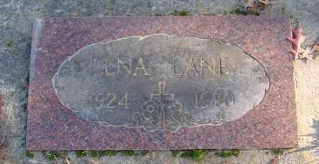 LANE, LENA - Polk County, Oregon   LENA LANE - Oregon Gravestone Photos