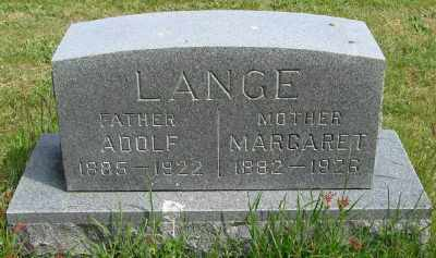 LANGE, ADOLF - Polk County, Oregon | ADOLF LANGE - Oregon Gravestone Photos