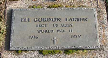 LARSEN, ELI GORDON - Polk County, Oregon | ELI GORDON LARSEN - Oregon Gravestone Photos