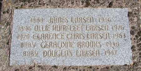 HUMFLEET LARSEN, OLLIE - Polk County, Oregon | OLLIE HUMFLEET LARSEN - Oregon Gravestone Photos