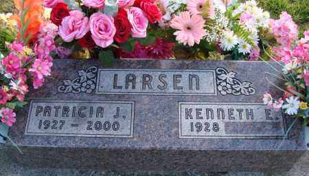 LARSEN, KENNETH E - Polk County, Oregon | KENNETH E LARSEN - Oregon Gravestone Photos