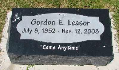LEASOR, GORDON E - Polk County, Oregon | GORDON E LEASOR - Oregon Gravestone Photos