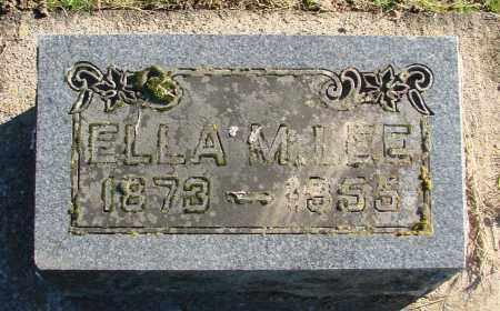 OLIN, ELLA MAY - Polk County, Oregon | ELLA MAY OLIN - Oregon Gravestone Photos