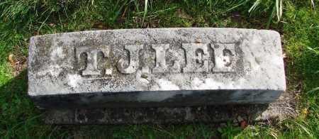 LEE (CW), THOMAS J - Polk County, Oregon   THOMAS J LEE (CW) - Oregon Gravestone Photos