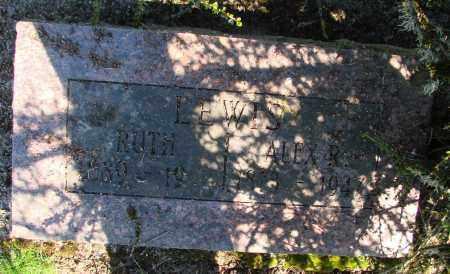 LEWIS, RUTH - Polk County, Oregon | RUTH LEWIS - Oregon Gravestone Photos