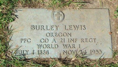 LEWIS, BURLEY - Polk County, Oregon | BURLEY LEWIS - Oregon Gravestone Photos