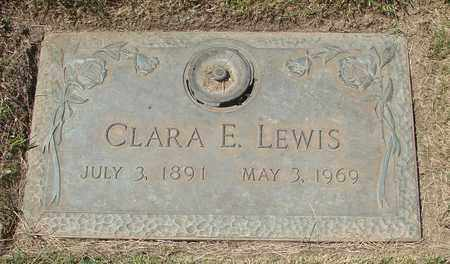 LEWIS, CLARA E - Polk County, Oregon   CLARA E LEWIS - Oregon Gravestone Photos