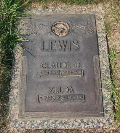 LEWIS, CLAUDE O - Polk County, Oregon | CLAUDE O LEWIS - Oregon Gravestone Photos