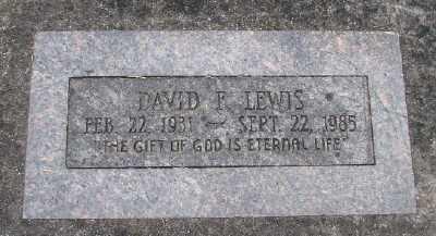 LEWIS, DAVID E - Polk County, Oregon   DAVID E LEWIS - Oregon Gravestone Photos