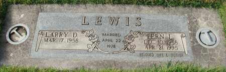 LEWIS, FERN L - Polk County, Oregon | FERN L LEWIS - Oregon Gravestone Photos