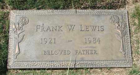 LEWIS, FRANK W - Polk County, Oregon | FRANK W LEWIS - Oregon Gravestone Photos