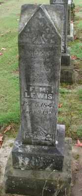 LEWIS, F M - Polk County, Oregon | F M LEWIS - Oregon Gravestone Photos