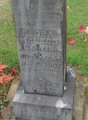 LEWIS, FLORA - Polk County, Oregon | FLORA LEWIS - Oregon Gravestone Photos