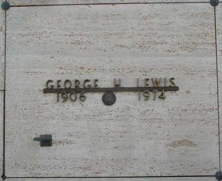 LEWIS, GEORGE H - Polk County, Oregon | GEORGE H LEWIS - Oregon Gravestone Photos