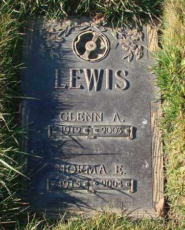 LEWIS, GLENN A - Polk County, Oregon   GLENN A LEWIS - Oregon Gravestone Photos