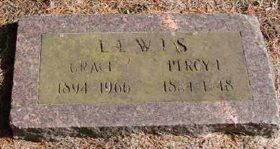 LEWIS, PERCY L - Polk County, Oregon | PERCY L LEWIS - Oregon Gravestone Photos
