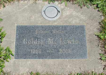 LEWIS, GOLDIA M - Polk County, Oregon | GOLDIA M LEWIS - Oregon Gravestone Photos