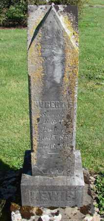 LEWIS, HUBERT E - Polk County, Oregon | HUBERT E LEWIS - Oregon Gravestone Photos