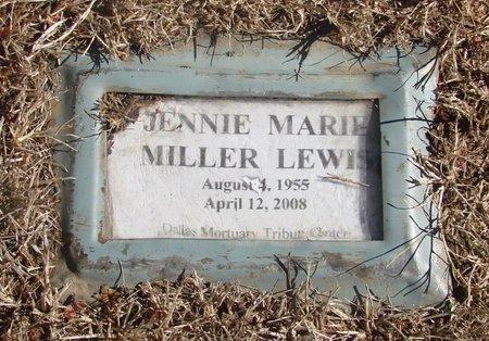 LEWIS, JENNIE MARIE - Polk County, Oregon   JENNIE MARIE LEWIS - Oregon Gravestone Photos