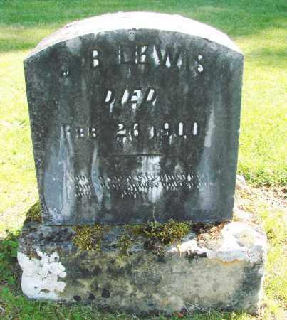 LEWIS, J B - Polk County, Oregon | J B LEWIS - Oregon Gravestone Photos