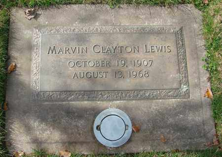 LEWIS, MARVIN CLAYTON - Polk County, Oregon | MARVIN CLAYTON LEWIS - Oregon Gravestone Photos