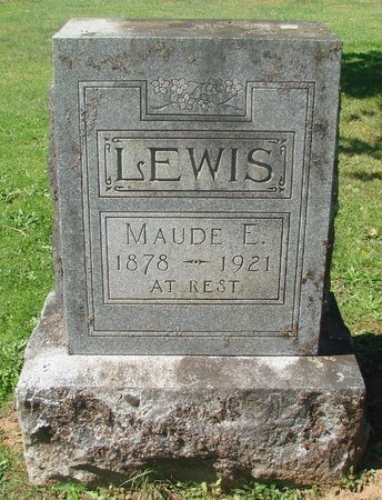 LEWIS, MAUDE E - Polk County, Oregon | MAUDE E LEWIS - Oregon Gravestone Photos