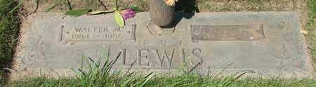 LEWIS, WALTER MILO - Polk County, Oregon   WALTER MILO LEWIS - Oregon Gravestone Photos